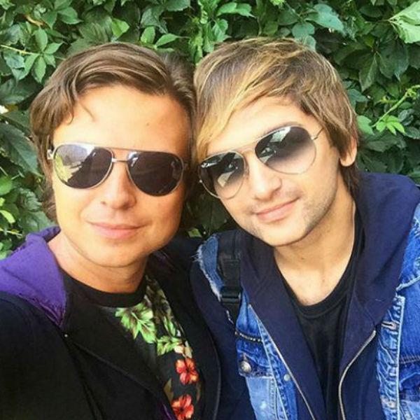 Тима Брик и Прохор Шаляпин не только работали вместе, но и поддерживали дружеские отношения