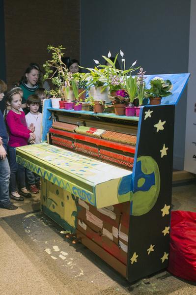 Арт-объект, созданный детьми, можно будет увидеть в холле музея