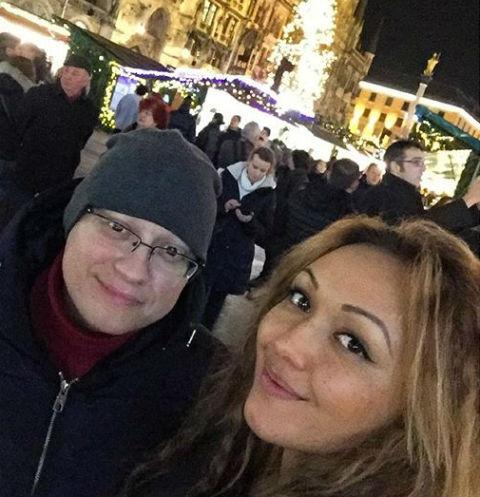 Андрей Гайдулян и его невеста Диана