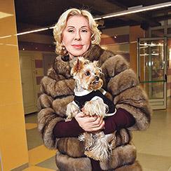 Успенская недавно подарила своей домработнице дорогую шубу