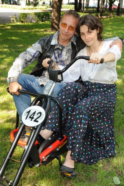 Иван Охлобыстин с женой Оксаной