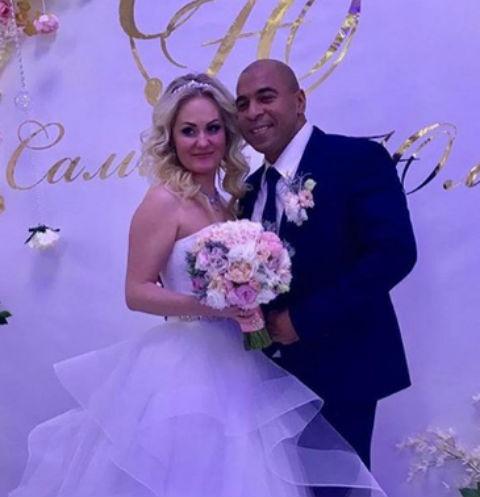 Сэм Селезнев с супругой