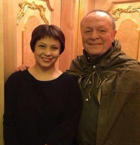 Инна Разумихина и Борис Галкин