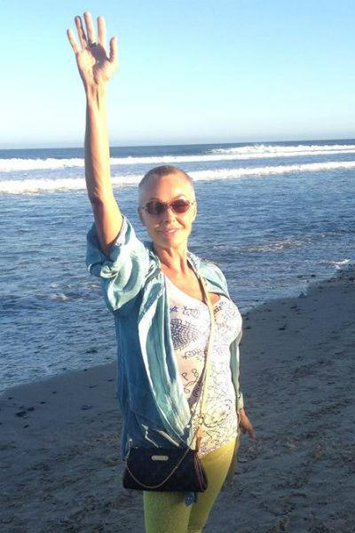 Наталья Андрейченко занимается духовными практиками в Мексике