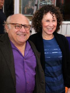 Дэнни Де Вито и его супруга Рея Перлман