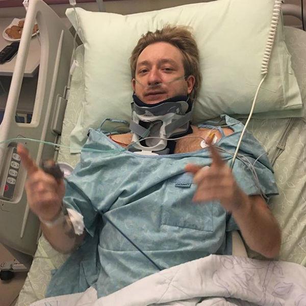 Евгений Поющенко во время одной из операций