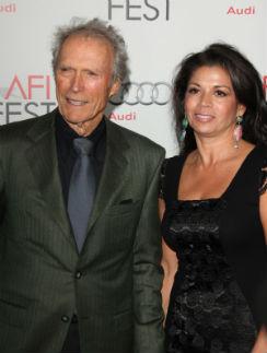 Клинт Иствуд с женой Диной