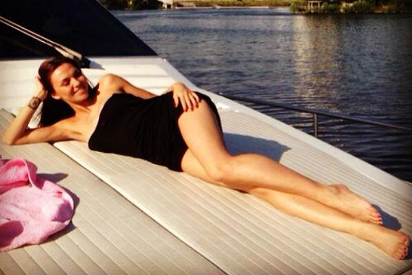 Сейчас Надя весит не больше 56 килограммов