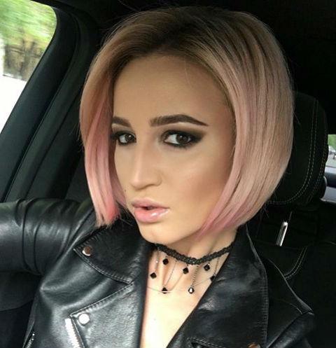 Ольга Бузова покрасила волосы ради съемок в клипе