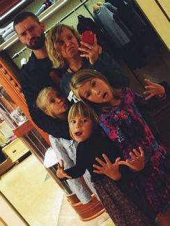 Владимир Кристовский с детьми