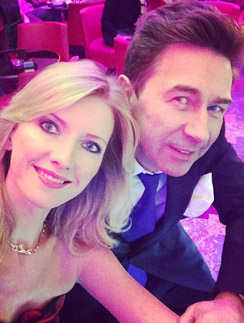 Виола и Валерий Сюткины отмечают Новый год