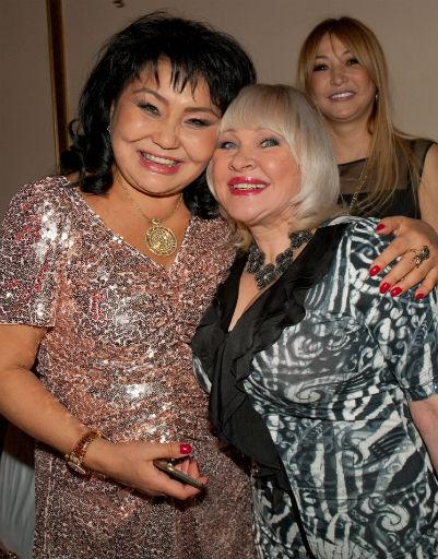 Клара Кузденбаева с близкой подругой Ириной Грибулиной