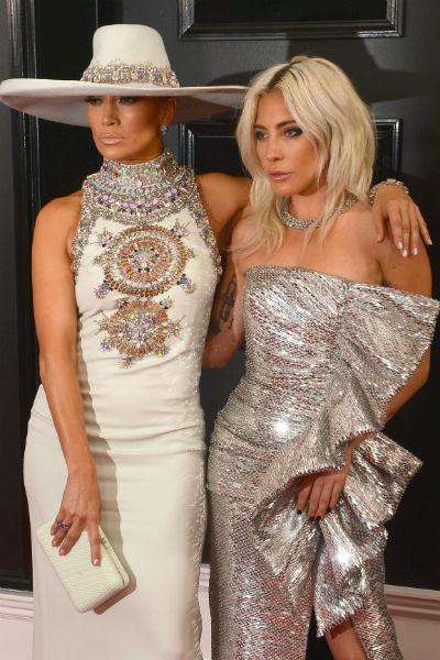 Дженнифер Лопес и Леди Гага