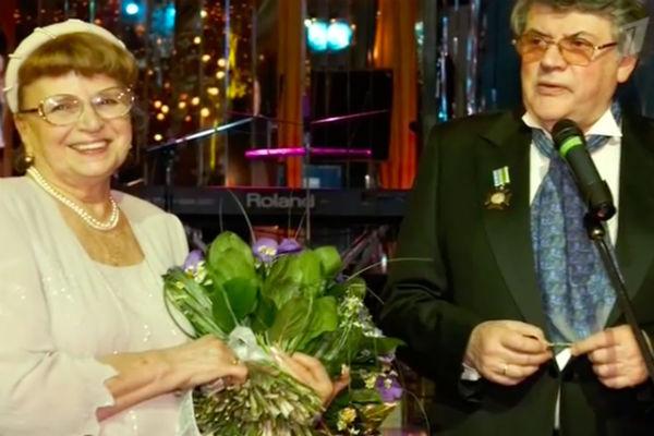 Ширвиндт с женой Натальей