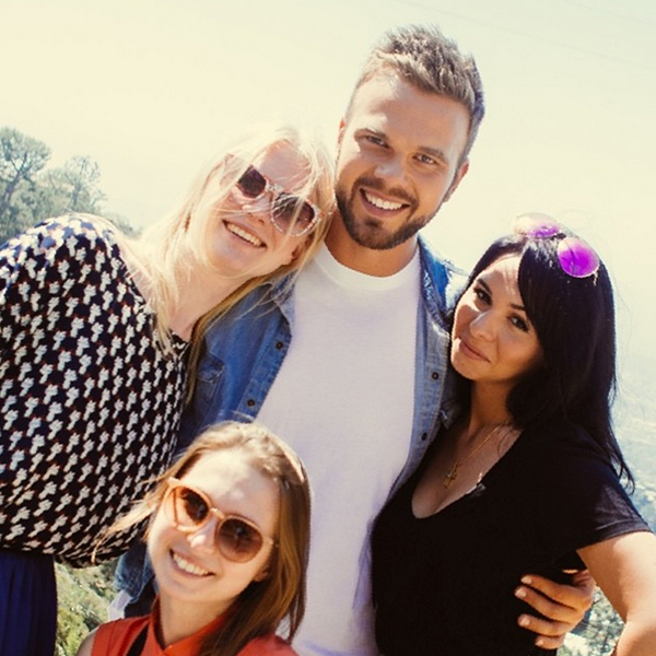 Максим и Маша провели экскурсию для ее подруг