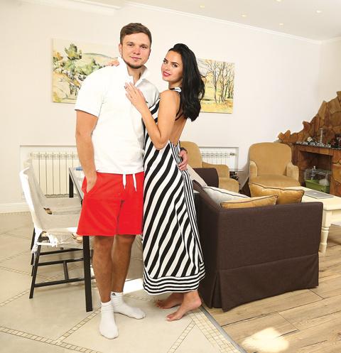 Недавно Гусев и Романец переехали в новый дом