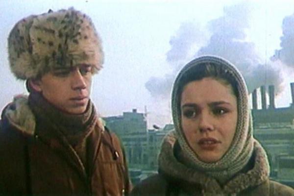 Одна из первых ролей Марины Зудиной. Фильм «Валентин и Валентина»