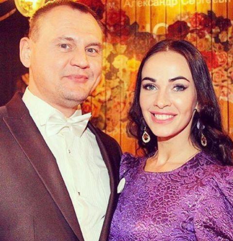 Степан Меньщиков с гражданской женой Евгенией Шамаевой