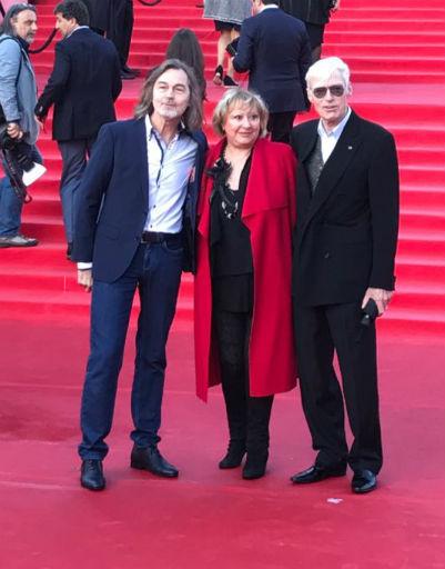 Никас Сафронов и Борис Щербаков с супругой