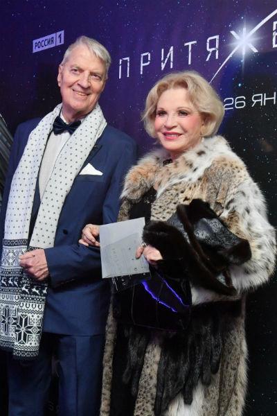 Людмила Максакова со вторым мужем Петером Игенбергсом