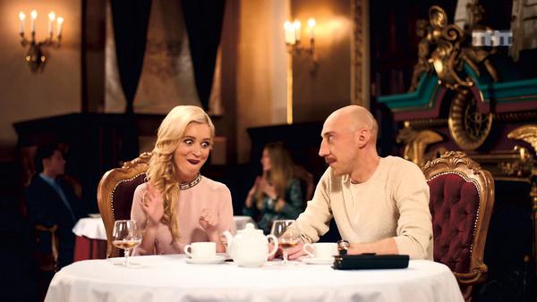 Героиня Ирины – характерная блондинка – появилась в шоу Сержа Горелого в 2011 году