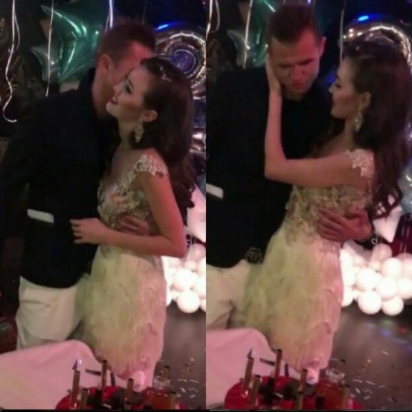 Анастасия Костенко вместе с Дмитрием Тарасовым с шиком отметила свой День рождения