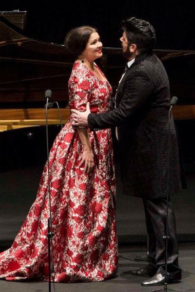 Анна и Юсиф часто выступают вместе на сцене