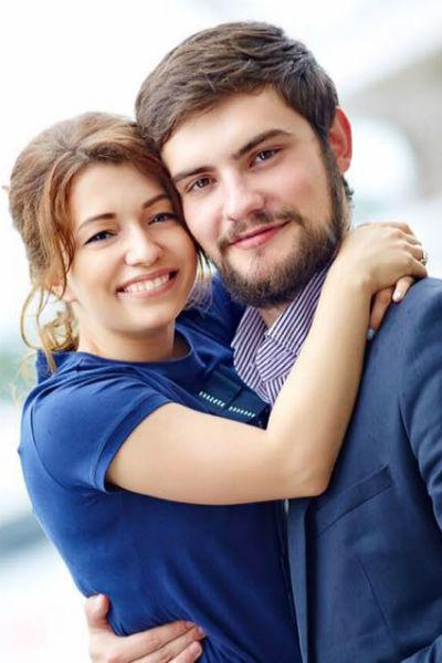 Ксения с мужем Андреем