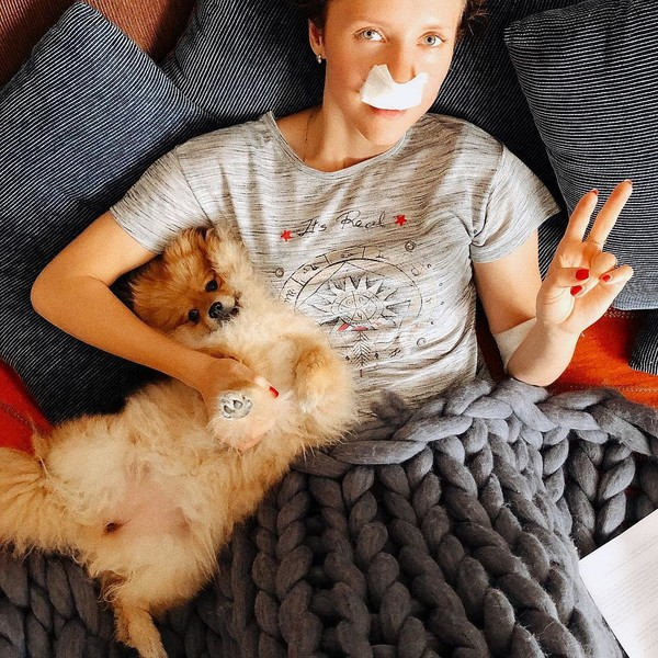 Елена перенесла операцию несколько дней назад