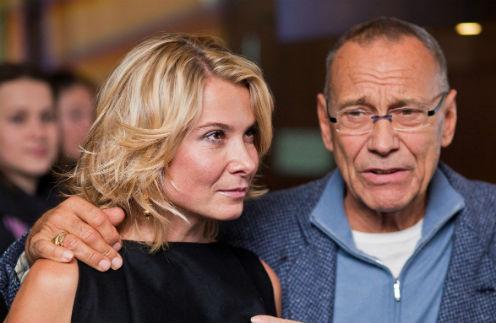 Юлия Высоцкая и Андрей Кончаловский