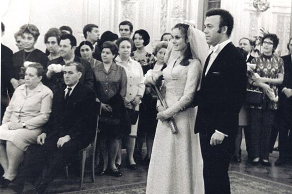 Нелли Михайловна и Иосиф Давыдович поженились в Ленинграде в 1971 году