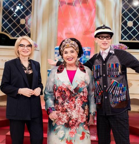Эвелина Хромченко, Надежда Бабкина и Андрей Бартенев