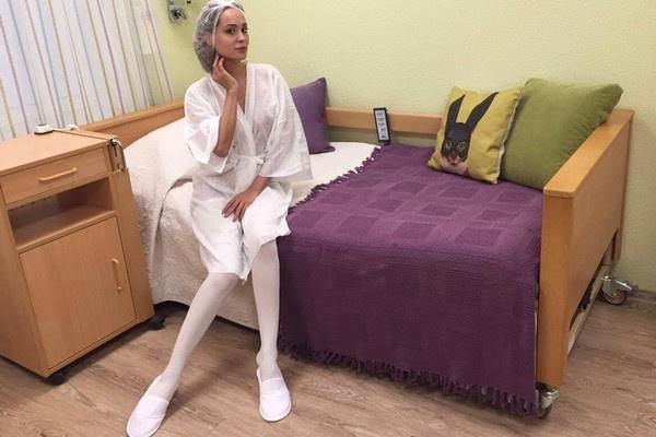 Анна Калашникова перед операцией в клинике Seline