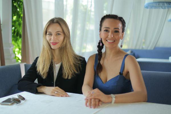 Светлана Устинова и Анна Пырова