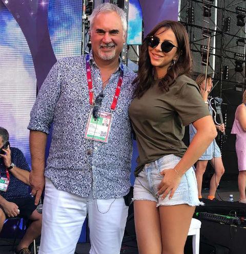 Ани Лорак и Валерий Меладзе на фестивале «Жара»