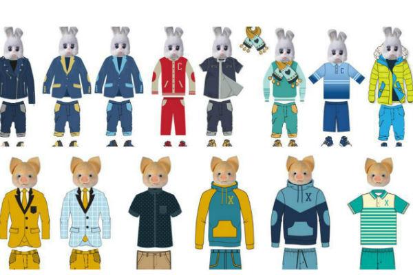 Теперь главные герои программ будут щеголять в новых костюмах