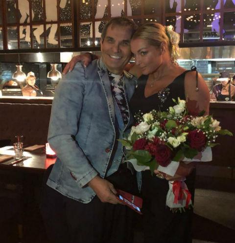 Анастасия Волочкова и Бари Алибасов в день рождения балерины