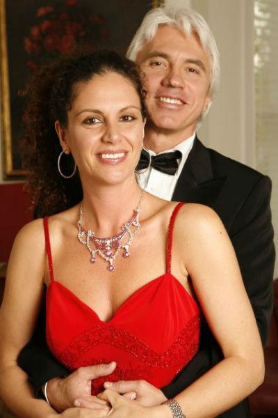Дмитрий Хворостовский с женой Флоранс