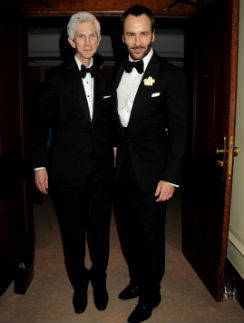 Том Форд и Ричард Бакли