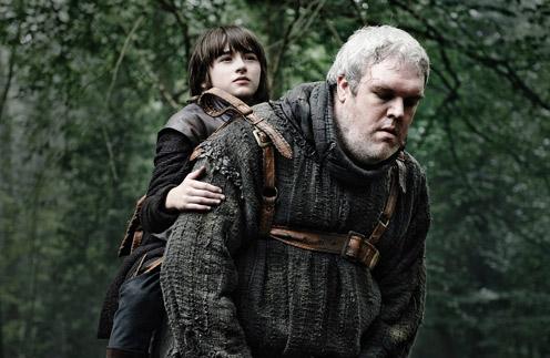 Бран и Ходор в сериале «Игра престолов»