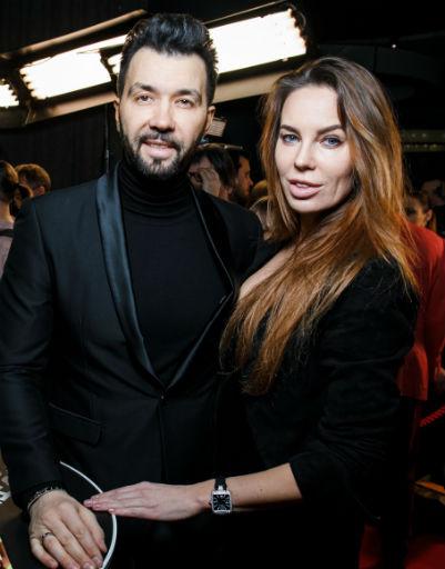 Денис Клявер с супругой