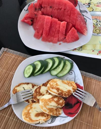 Теперь вся семья ест свежие овощи и фрукты