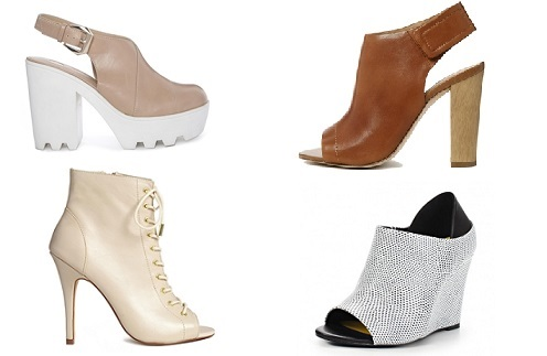 Ботильоны River Island, ALDO, Steve Madden, New look