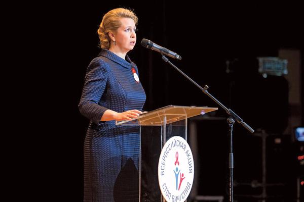 Речь Светланы Медведевой была эмоциональной и яркой