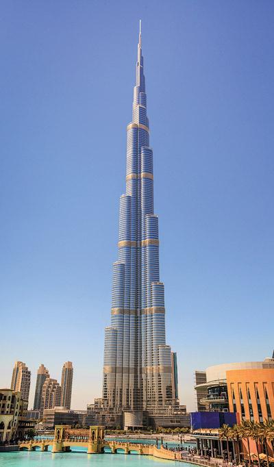 «Бурдж Халифа» - главная достопримечательность Дубая