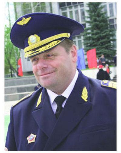 Ректор института гражданской авиации Сергей Краснов