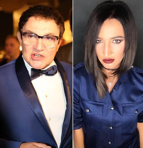 Дмитрий Дибров и Ольга Бузова