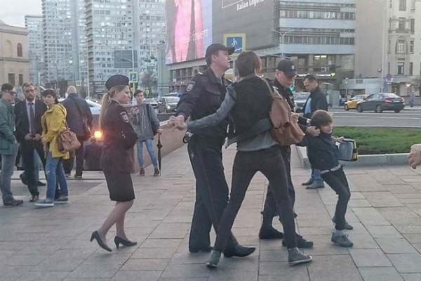 Момент задержания Оскара Скавронски