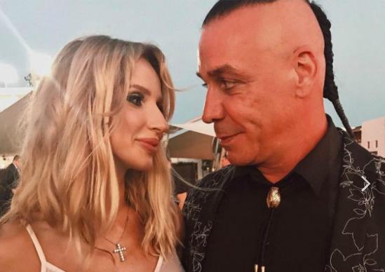 Светлана и Тилль не торопятся комментировать свои отношения