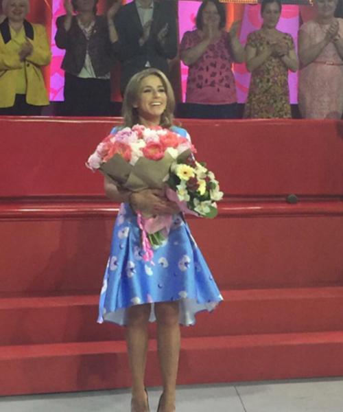 3 июня Юлии исполнился 31 год, ее поздравили в эфире передачи «Мужское/Женское», которую она ведет в паре в Александром Гордоном
